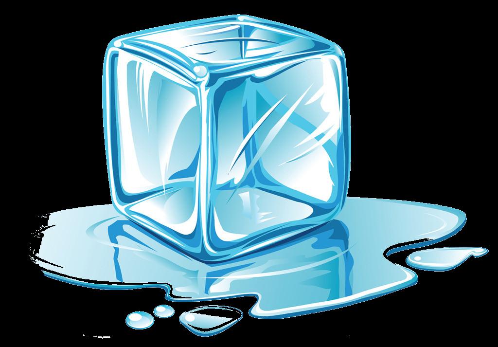 Ice cube Melting Clip art.