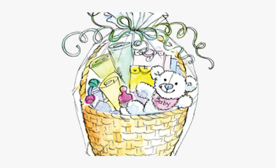 Basket Clipart Baby Shower, Cliparts & Cartoons.