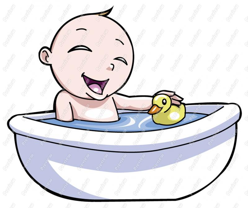Bath clipart baby boy, Bath baby boy Transparent FREE for.