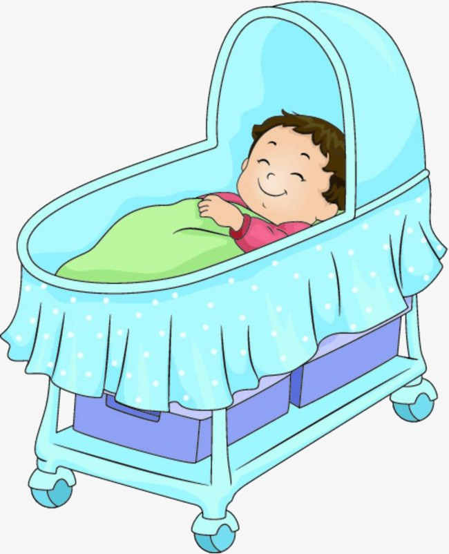 Baby in a crib clipart 3 » Clipart Portal.
