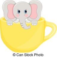 767 Teacup free clipart.
