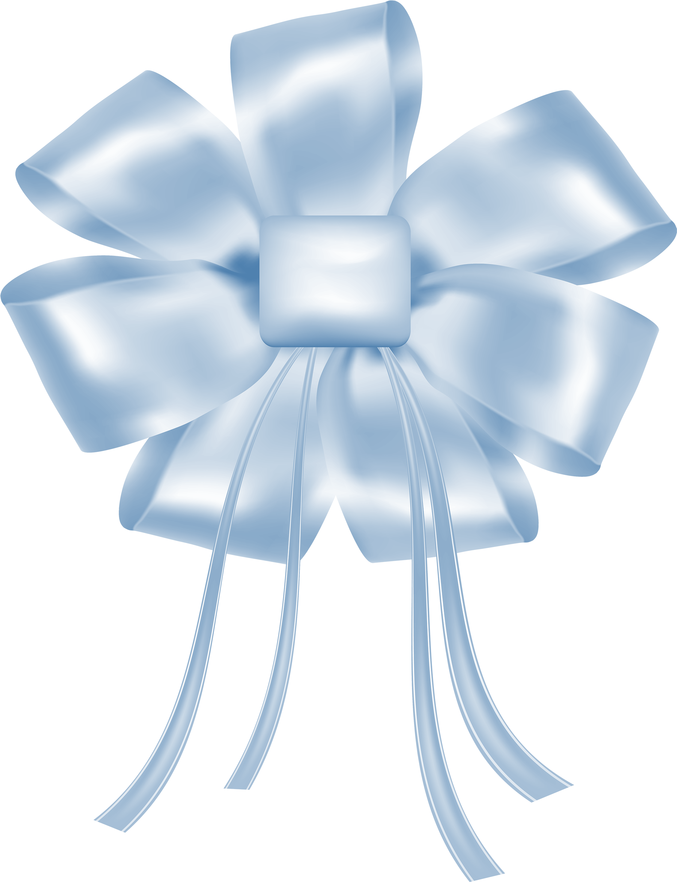 Blue Bow Png Best.