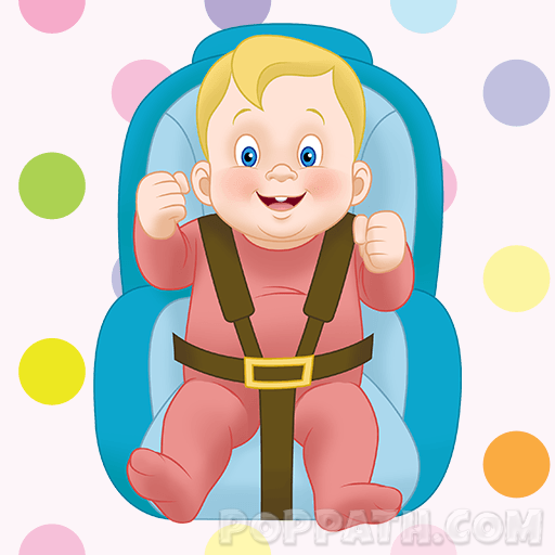 How To Draw A Baby In A Car Seat.