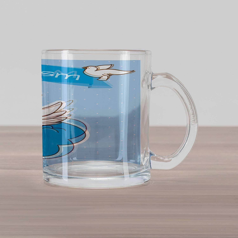 Amazon.com: Ambesonne Religious Glass Mug, My Ritual Sign.