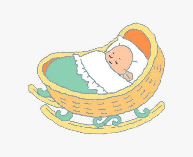 Baby in cradle clipart 7 » Clipart Portal.