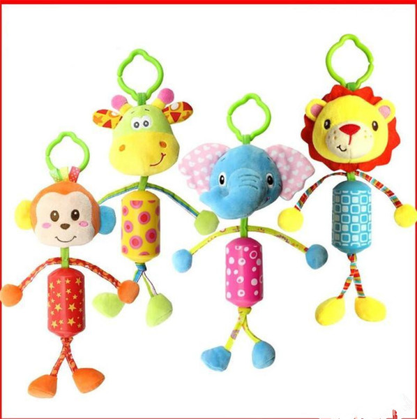 2019 New Hot Infant Toys Mobile Baby Plush Toy Bed Wind Chimes Rattles Bell  Toy Baby Crib Bed Hanging Bells Toys B995 From Growvin, $2.67.
