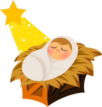 Baby Jesus Clipart Free.