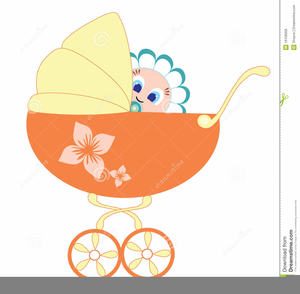 Baby Pram Clipart.