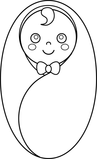 baby drawing clip art.