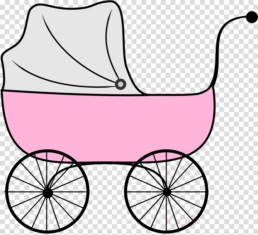 clip art vehicle pink wagon carriage clipart.