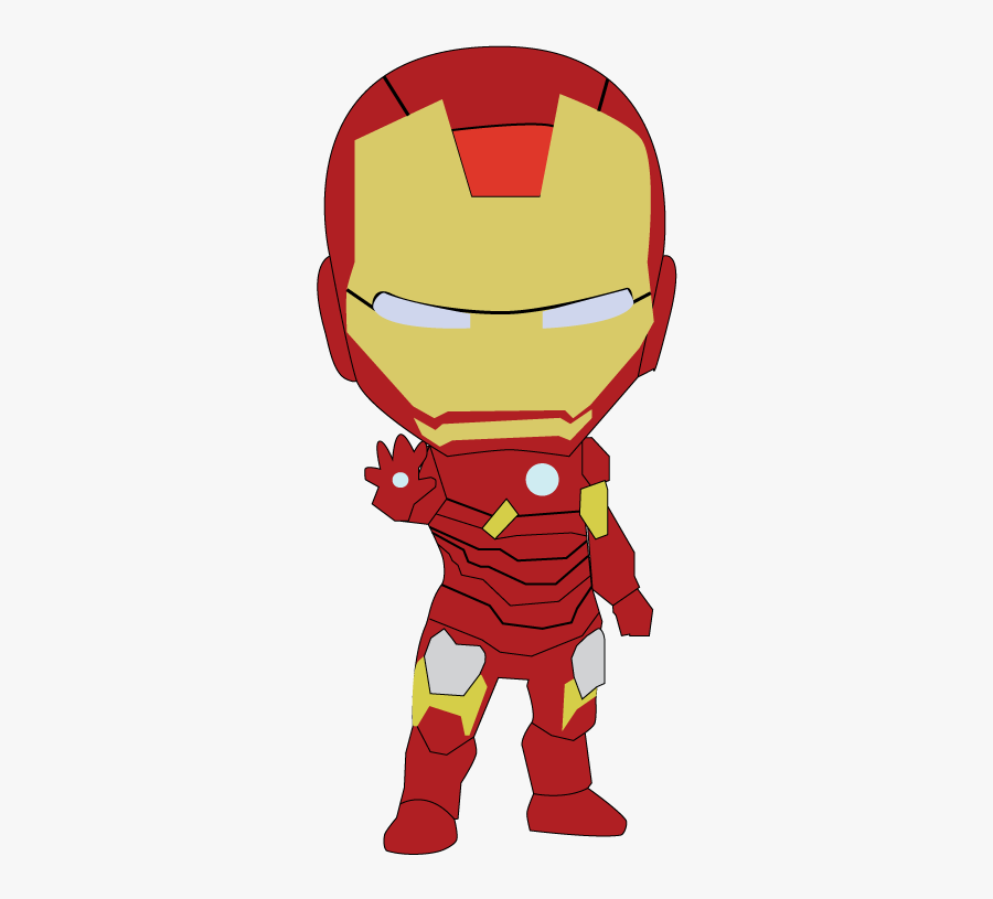 Graphic Free Stock Ironman Vector.