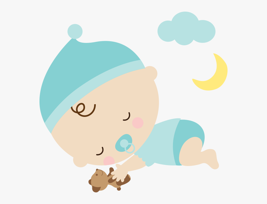 Infant Clipart Napping.
