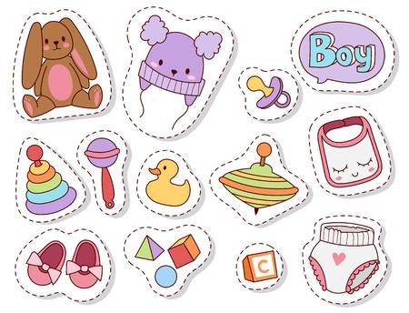 912 Baby Stuff Stock Vector Illustration And Royalty Free Baby Stuff.