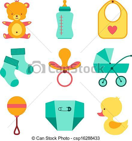 Baby items clipart 1 » Clipart Portal.