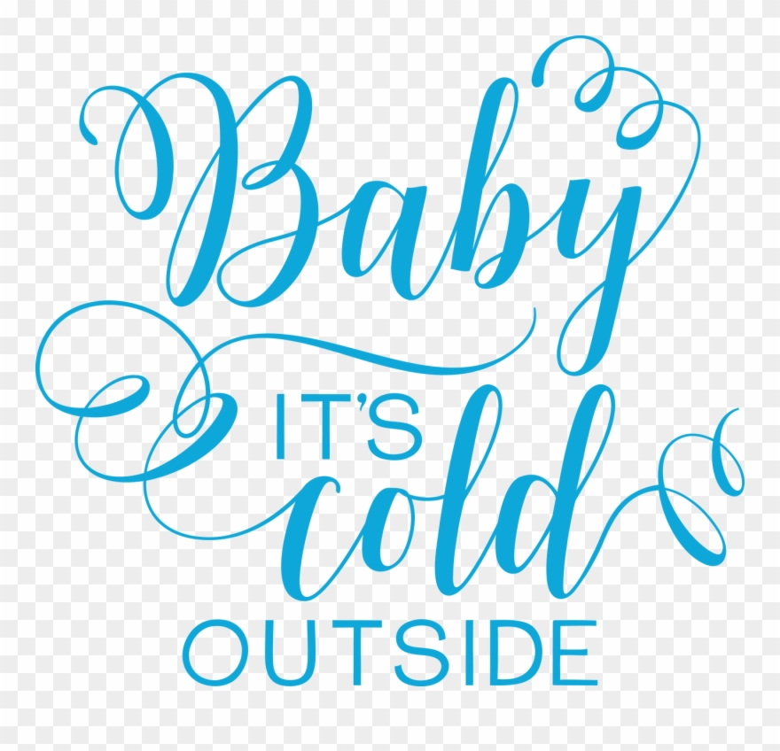 Png Freeuse Stock Baby It's Cold Outside Clipart.