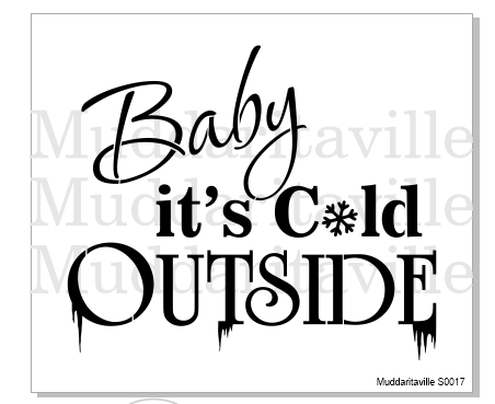 S0017 Baby it's cold outside.
