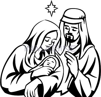 Baby Jesus And Mary Clipart Clipground