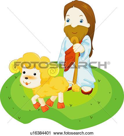 Clipart of child, church, love, jesus christ, jesus, christian.