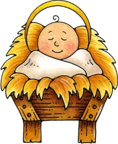 Baby Jesus Christmas Clipart.
