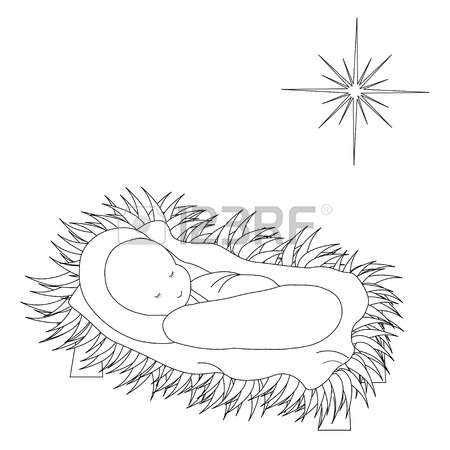 2,620 Baby Jesus Stock Vector Illustration And Royalty Free Baby.