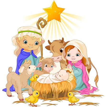 4,238 Baby Jesus Stock Vector Illustration And Royalty Free Baby.