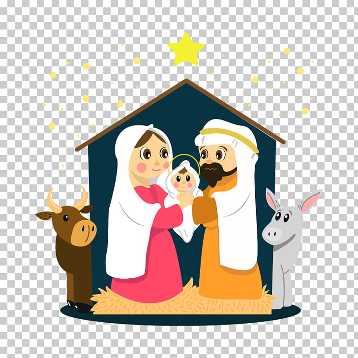 Bethlehem Christmas Nativity scene Nativity of Jesus Child.