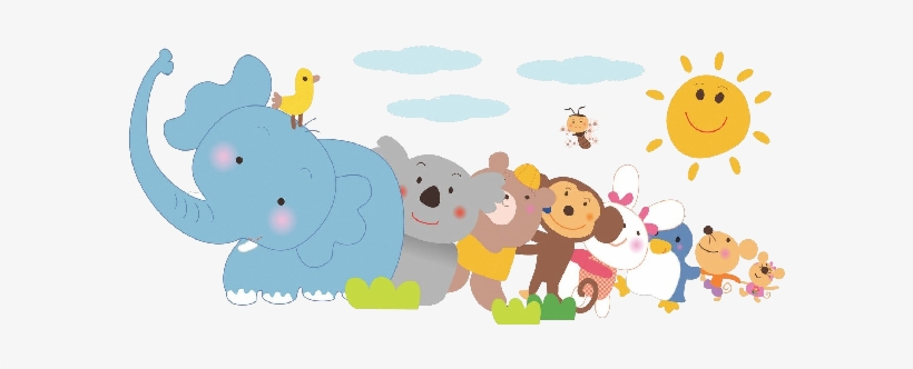 Baby Jungle Animals Png Download.