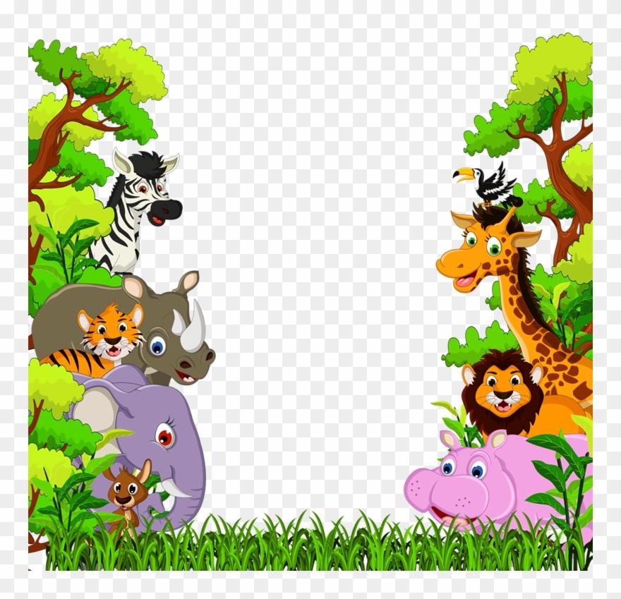 Фотки Cartoon Jungle Animals, Baby Cartoon, Safari Clipart.