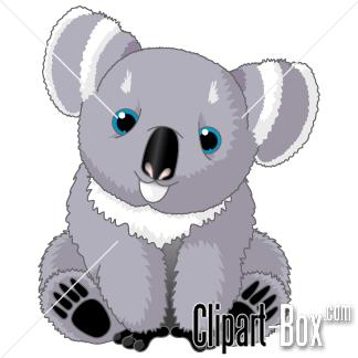 CLIPART BABY KOALA.