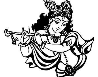 Image result for shri krishna clipart in 2019.