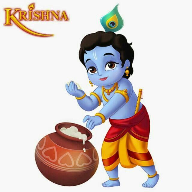 Baby Krishna Clipart.