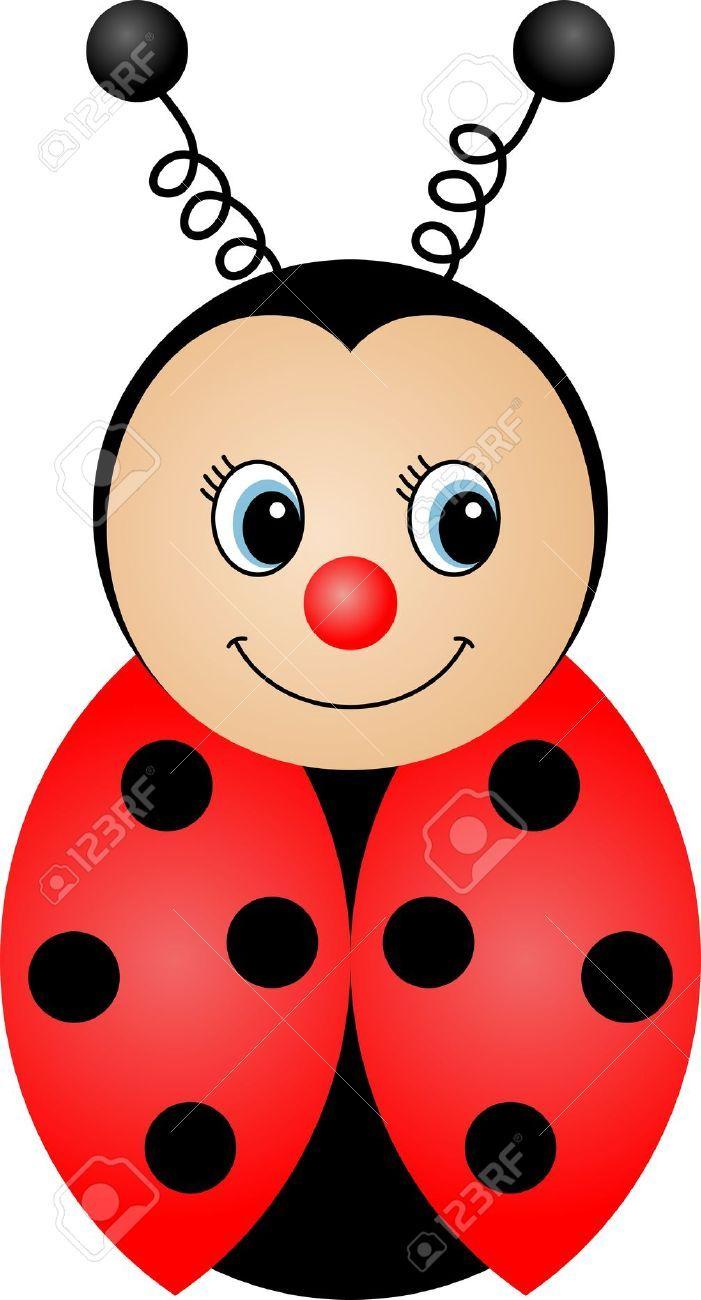 Ladybug Baby Shower Clip Art.