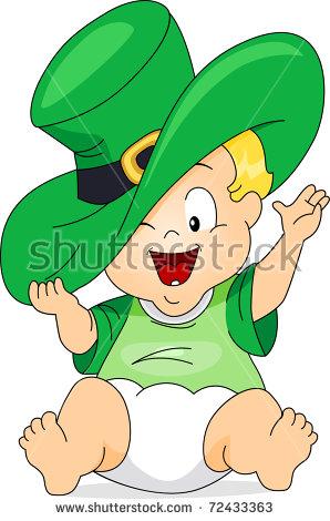 Leprechaun Baby Stock Photos, Royalty.