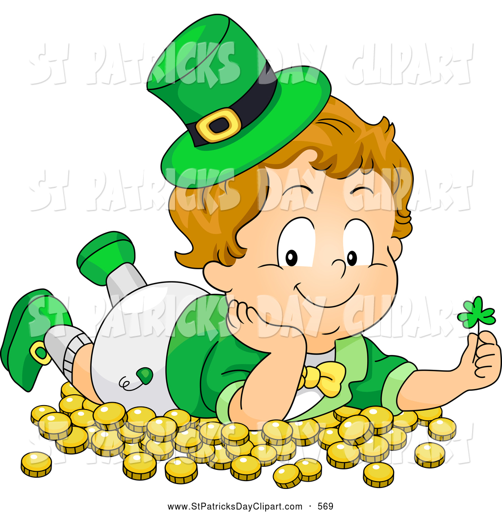 Royalty Free Child Stock St. Patrick's Day Designs.