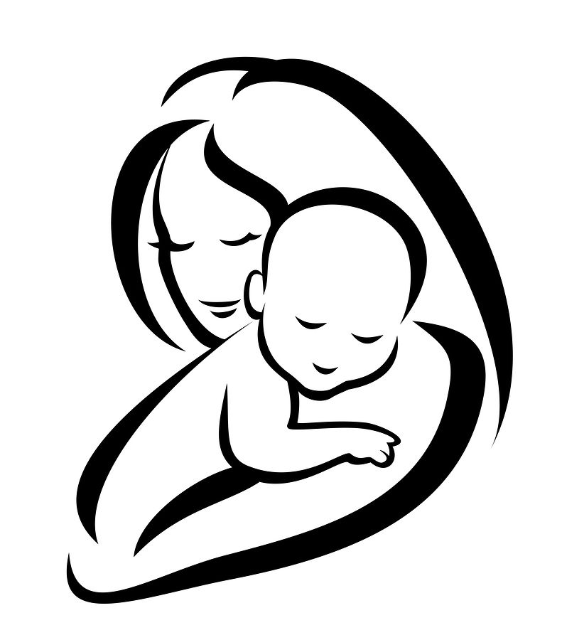 Mother And Child Art Images.