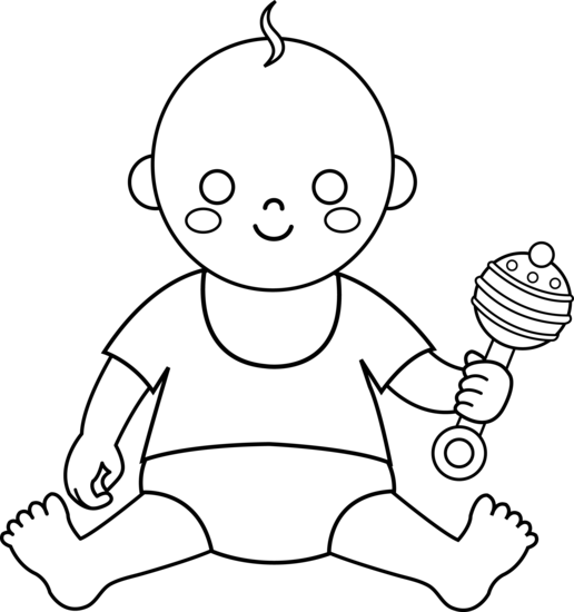 Free Baby Outline, Download Free Clip Art, Free Clip Art on.