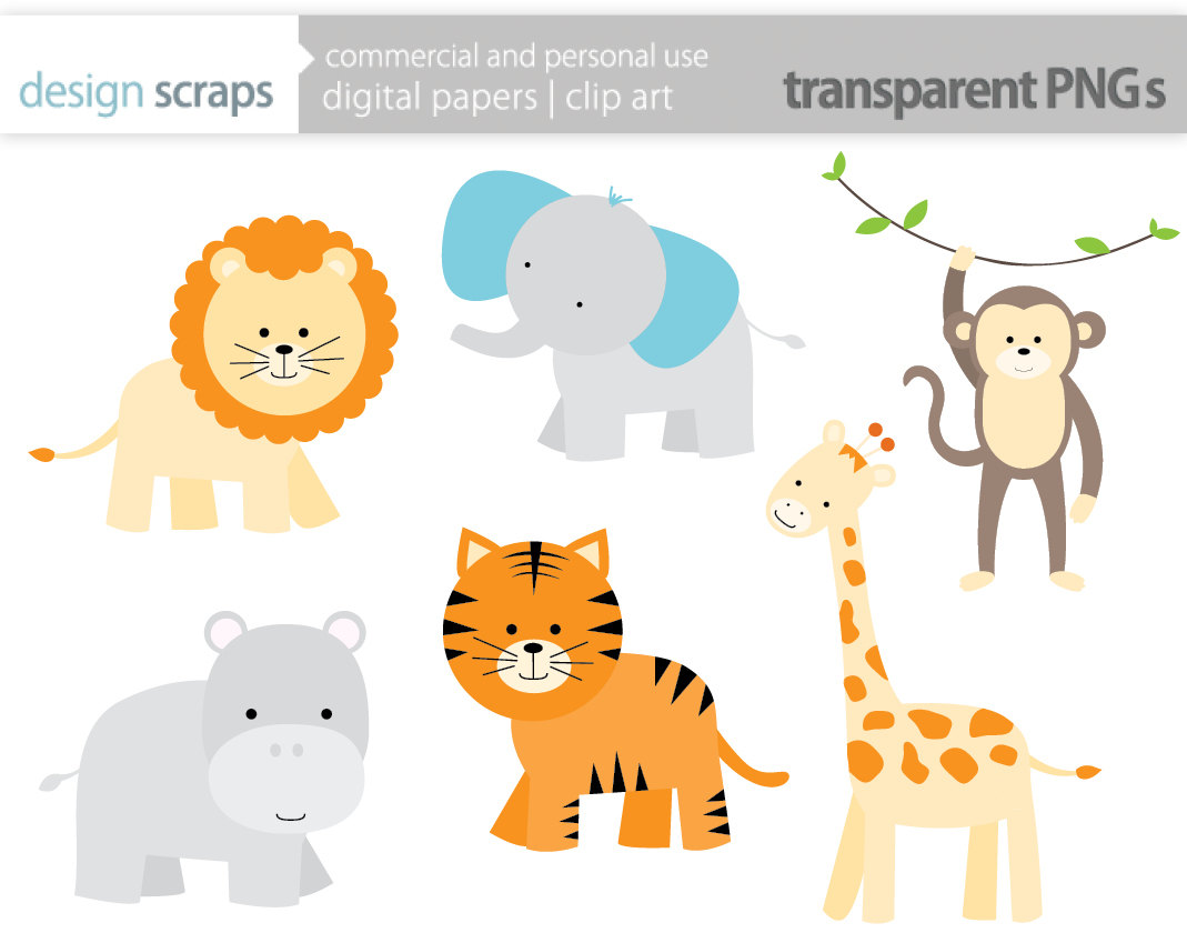 free20clip20art20baby20animals. baby animal clipart baby jungle.