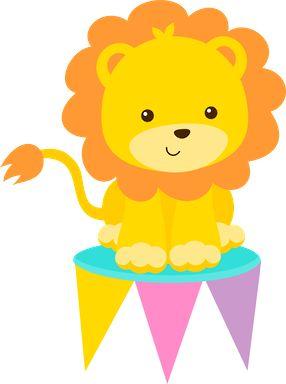 Circo rosa minus clip art desenhos baby lions image #17720.