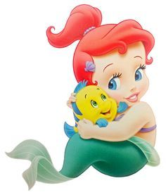 free clipart baby mermaids.