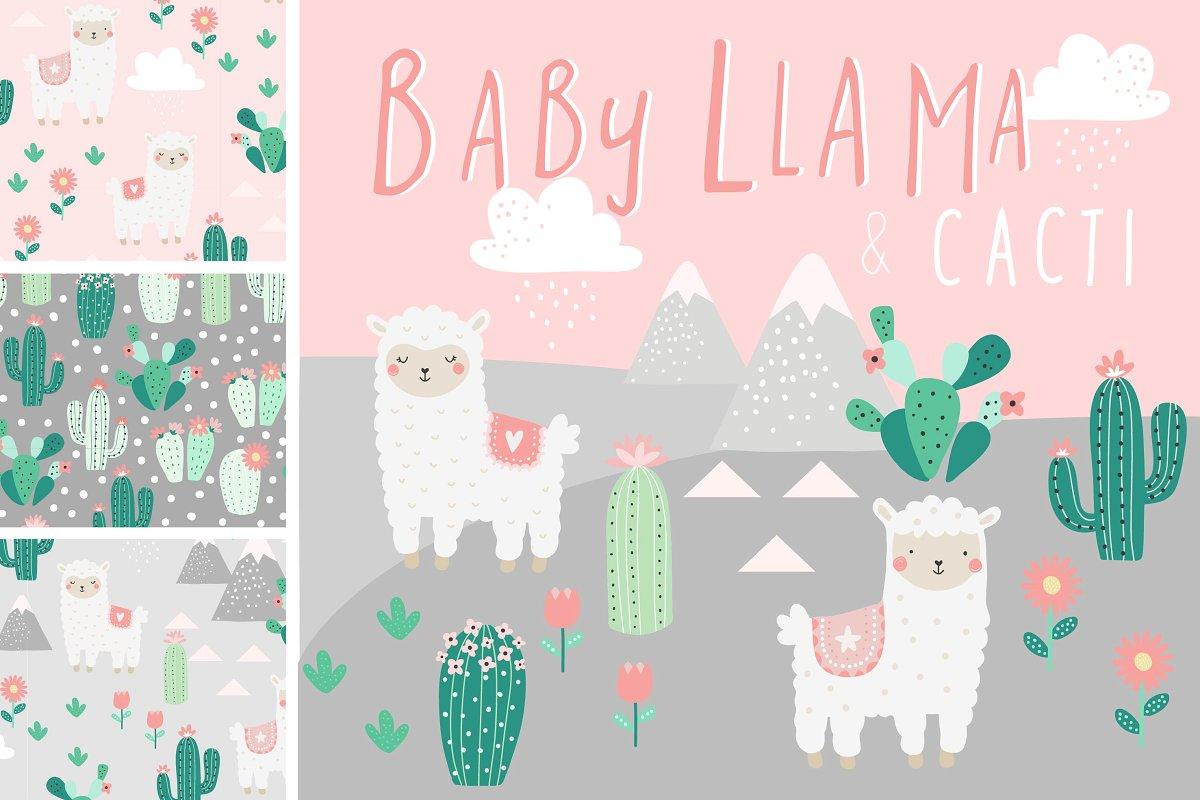 Baby Llama and Cacti.