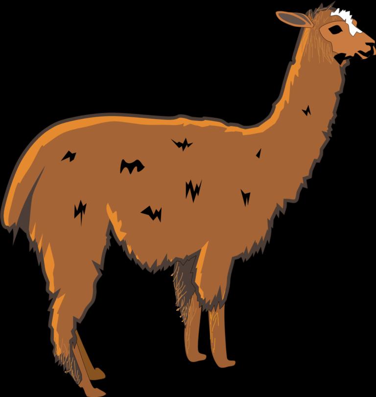 Llama clip art cartoon free clipart images 2.