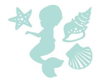 Baby mermaid.