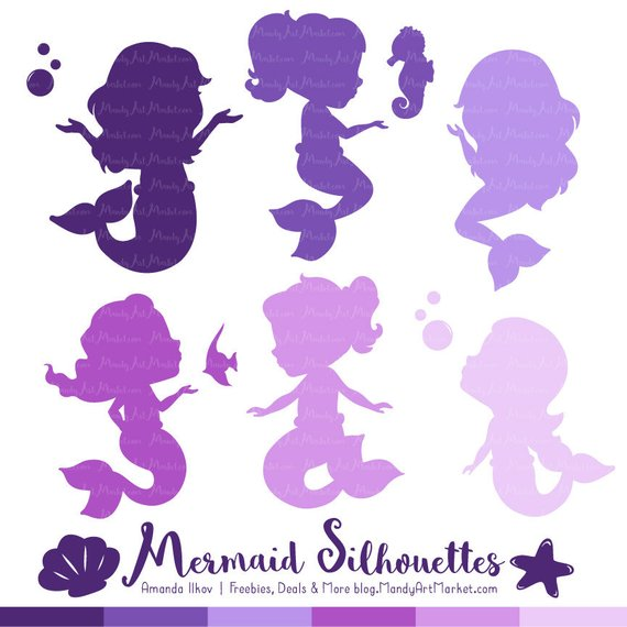 Baby Mermaid Clipart (92+ images in Collection) Page 2.