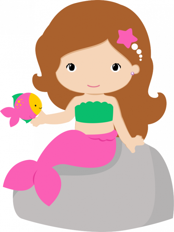 HD Mermaid Clipart , Free Unlimited Download #4925944.