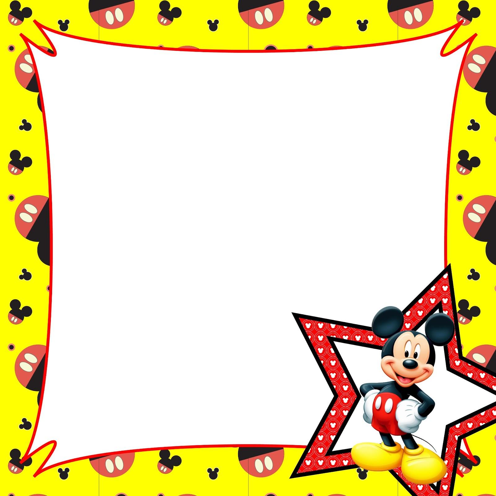 Free Mickey Border Cliparts, Download Free Clip Art, Free.