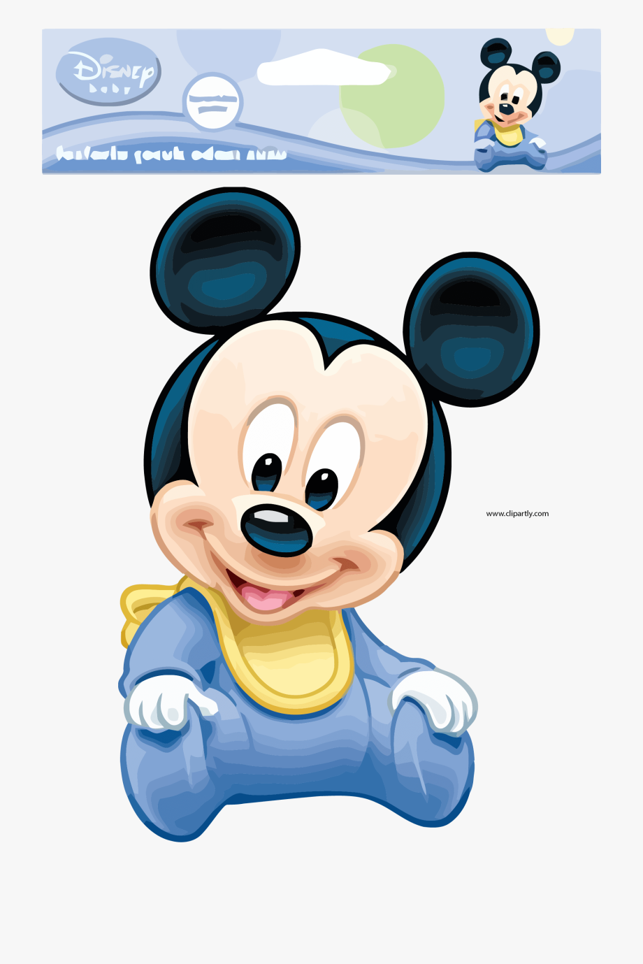 Baby Mickey Mouse Pictures Package Design Clipart Png.