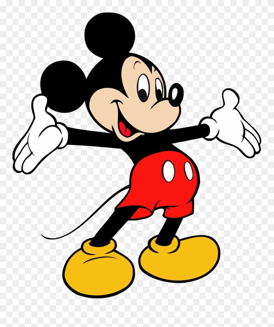 Mickey Mouse Vector.
