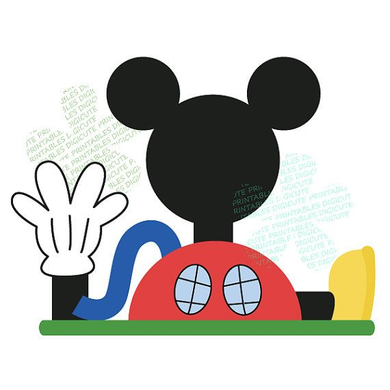 Disney Mickey Mouse Clubhouse Digital CLIP ART.