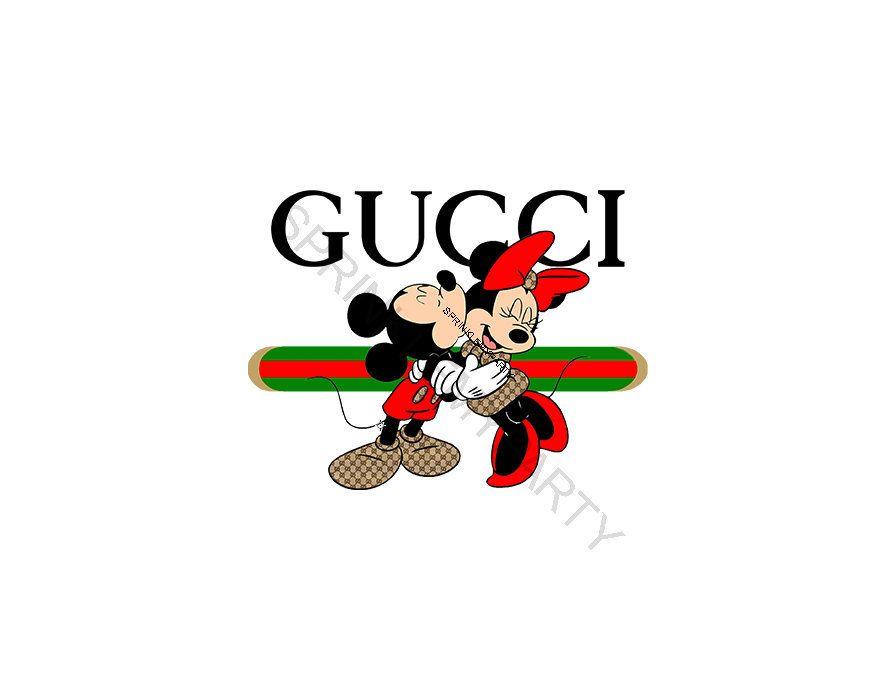 Gucci Mickey And Minnie Clipart Mickey Clipart Minnie.