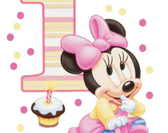 minnie mouse first birthday clipart - Clipground